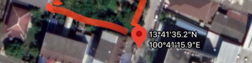 ภาพที่ดินถมแล้ว สวย ใกล้ถนนพัฒนากาน สวนหลวง ร.9