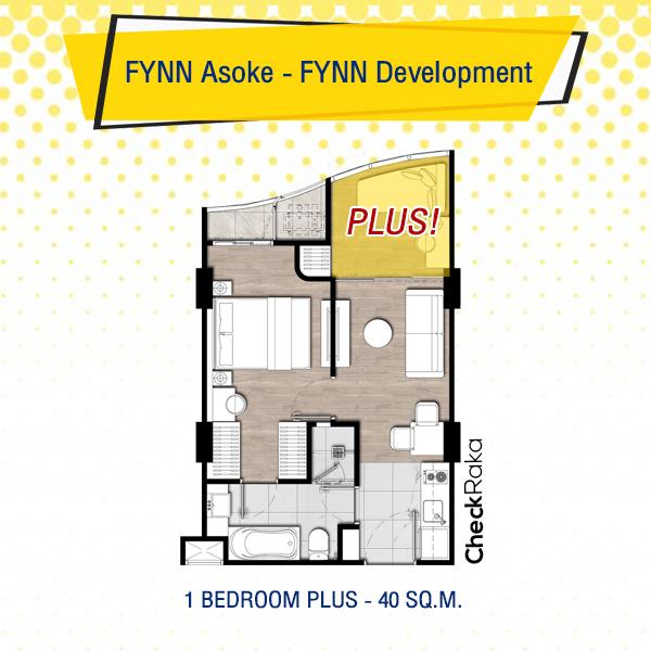 ขายดาวน์ Fynn Asoke Condo Sukhumvit 10  เสร็จต้นปี 2022