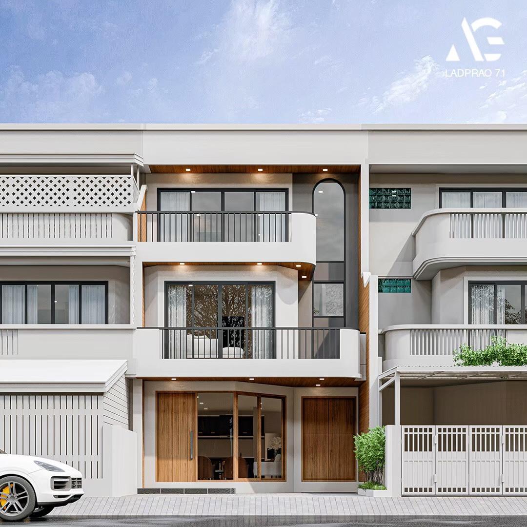 ขาย ทาวน์โฮม/โฮมออฟฟิศ บ้านกลางเมือง สไตล์ Modern-Luxury
