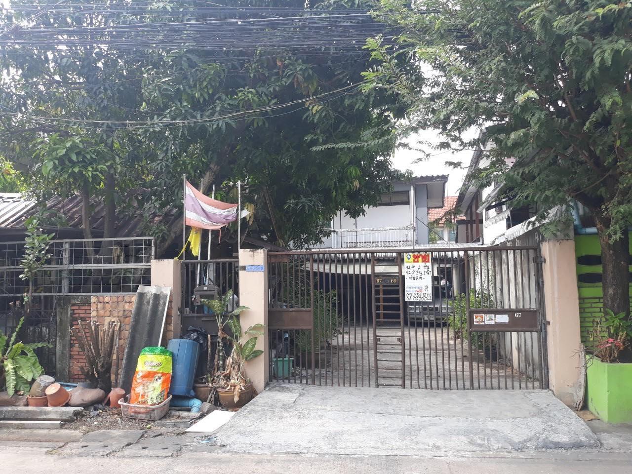ภาพขายบ้านเดี่ยว 2 ชั้น ซอยติวานนท์41 (รหัสทรัพย์202137) ต.ท่าทราย อ.เมืองนนทบุรี จ.นนทบุรี ขนาด 94 ตรว