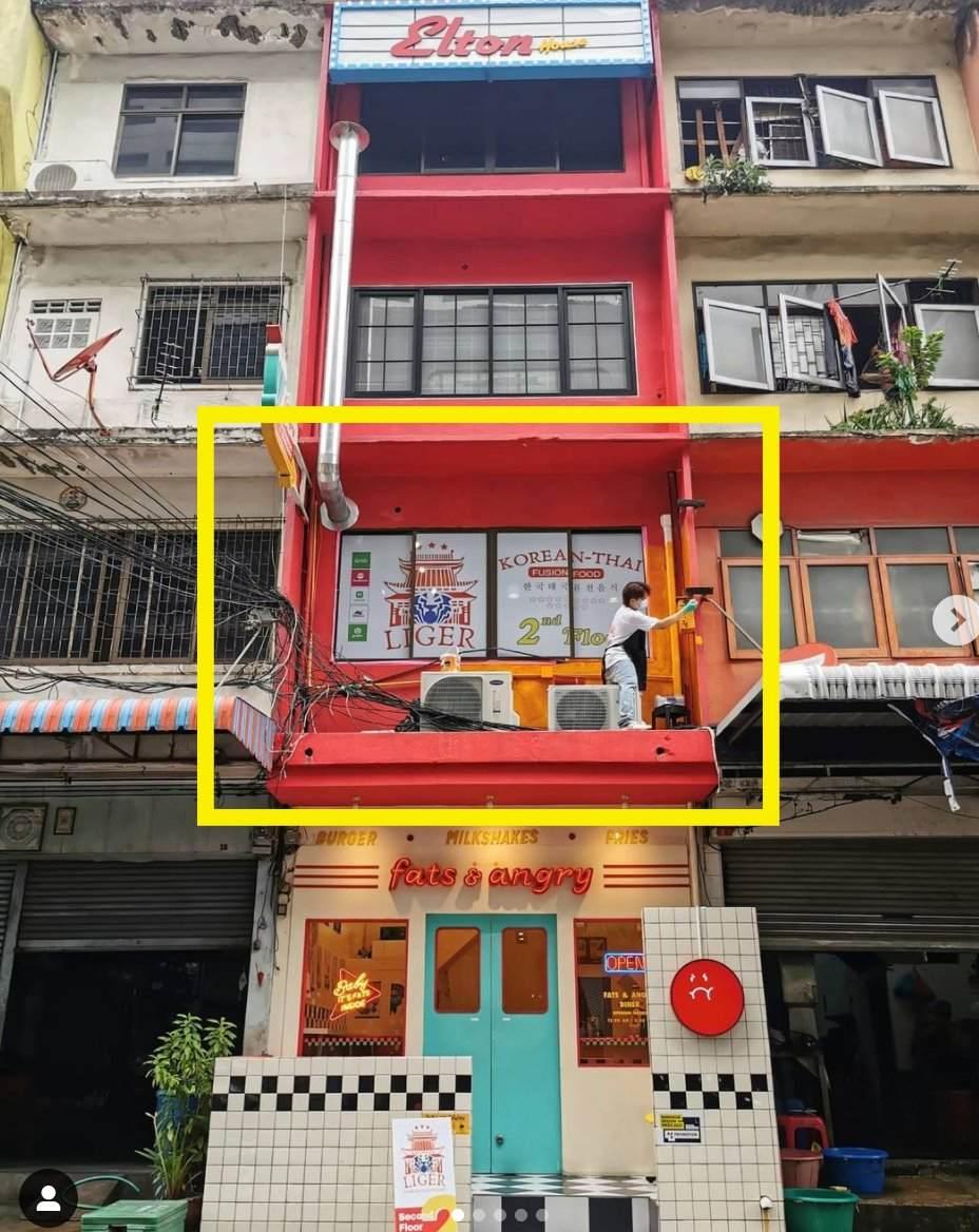 ภาพเซ้ง‼️ ร้านอาหาร ทำเลทอง ย่านเจริญกรุง @ตึก Elton House ชั้น2