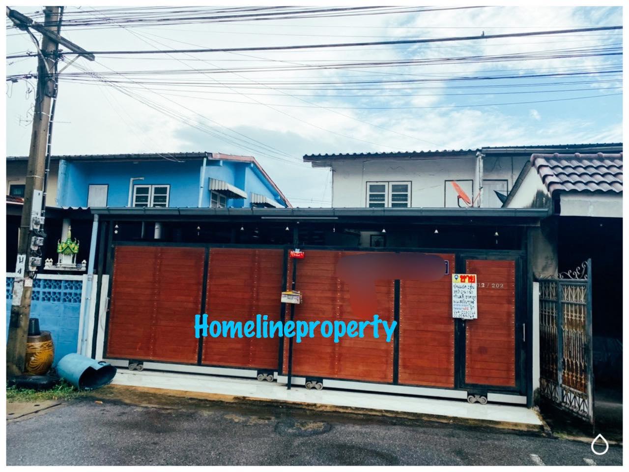 ขายบ้านแฝด 2 ชั้น หมู่บ้านแสงไพฑูรย์ สรงประภา14  (รหัสทรัพย์ 202184) ซอยสรงประภา14 ดอนเมือง กรุงเทพ
