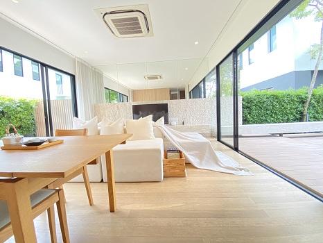 ราคาดีมาก ขายด่วน บ้านเดี่ยวสไตล์ญี่ปุ่น โนเบิล เกเบิล วัชรพล ตกแต่งครบพร้อมเข้าอยู่ ใกล้รถไฟฟ้า