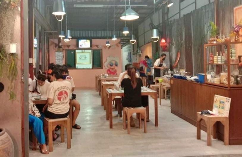 เซ้ง‼️ ร้านอาหาร ย่านหน้าวัดลาดพร้าว ริมถนนติดโชคชัย4 @ลาดพร้าววังหิน