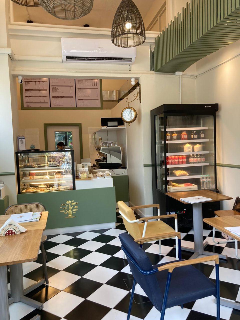 ประกาศเซ้ง‼️ ร้านคาเฟ่+อาหารเพื่อสุภาพ สาธรซอย1 ย่านใจกลางเมือง @ชั้น 1 โรงแรม S1 Hostel