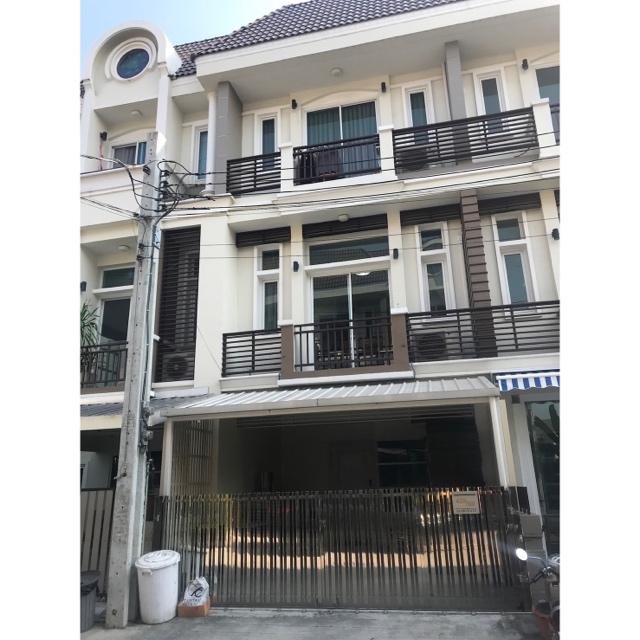 """Sale Home Office บิ้วอินหรู ตกแต่งครบ สภาพใหม่ อยู่แล้วเฮงมาก  """"Premium Place Ekamai-Ramindra2"""" 7.5M"""