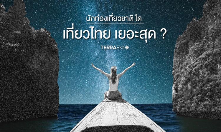 นักท่องเที่ยวต่างชาติ ใด เที่ยวไทย เยอะสุด ?