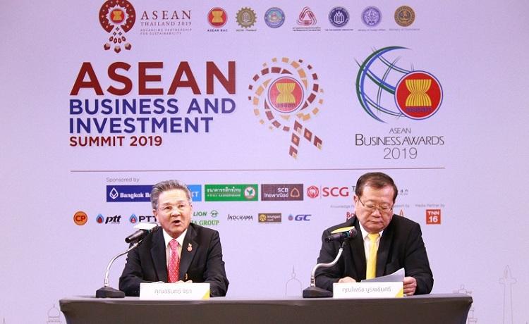 เอกชนเปิดประตูการค้าอาเซียน เชิญ 8 ผู้นำประเทศแลกเปลี่ยนมุมมองเศรษฐกิจ