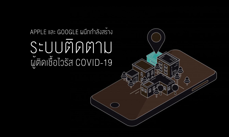 พักรบชั่วคราว Apple และ Google ผนึกกำลังสร้างระบบติดตามผู้ติดเชื้อไวรัส COVID - 19