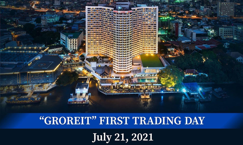 กองทรัสต์ GROREIT กระแสตอบรับเยี่ยม ขาย IPO หมดเกลี้ยง