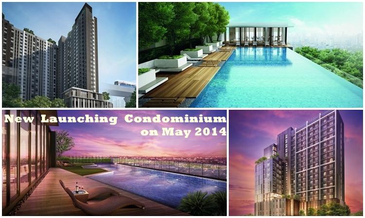 คอนโดมิเนียมโครงการใหม่ พฤษภาคม 2014