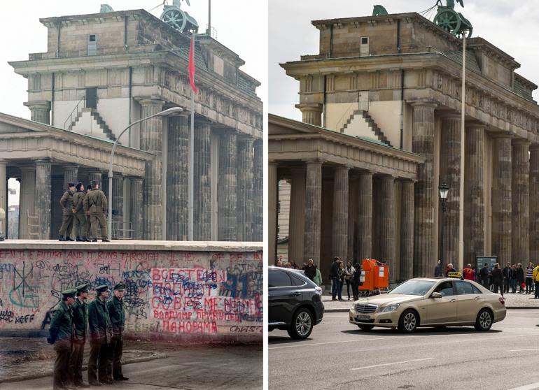 เยอรมนีเริ่มงานครบรอบ 25 ปีการพังทลายของกำแพงเบอร์ลิน