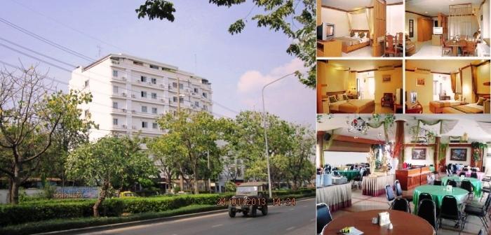 0292 ขายโรงแรมและเซอร์วิสอพาร์ทเมนท์ ถ.เจริญราษฎร์ ใกล้สาธร